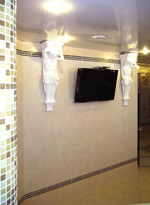 интерьер бани - фото № 13205