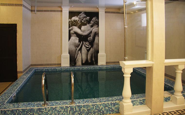 интерьер бани - фото № 13208