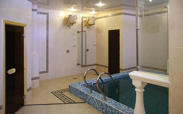 интерьер бани - фото № 13210