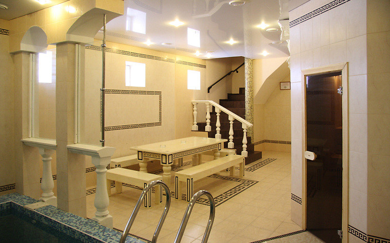 интерьер бани - фото № 13211