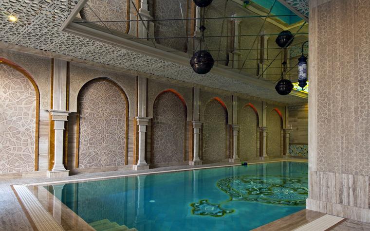 Баня, сауна, бассейн. бассейн из проекта , фото №25002