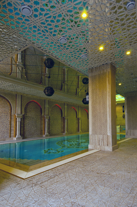 Баня, сауна, бассейн. бассейн из проекта , фото №25011