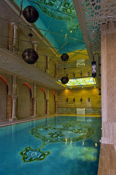 Фото № 25012 бассейн  Баня, сауна, бассейн