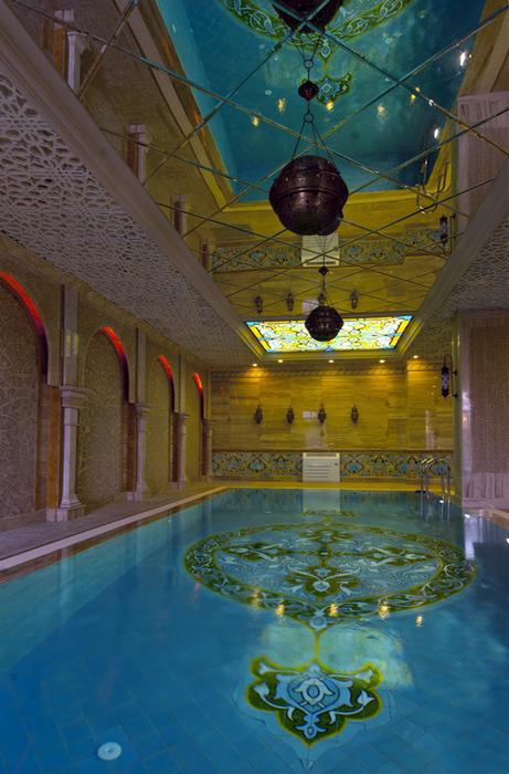 Фото № 25013 бассейн  Баня, сауна, бассейн