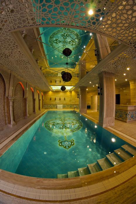 Фото № 25019 бассейн  Баня, сауна, бассейн