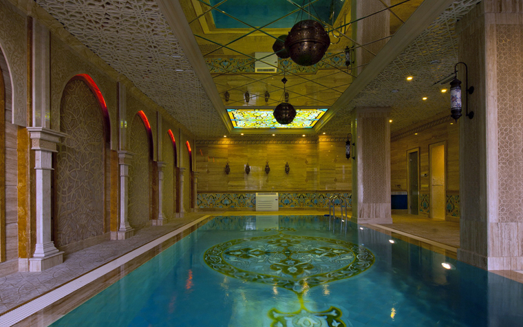 Фото № 25003 бассейн  Баня, сауна, бассейн