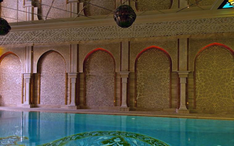 Баня, сауна, бассейн. бассейн из проекта , фото №25004