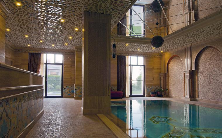 Фото № 25005 бассейн  Баня, сауна, бассейн