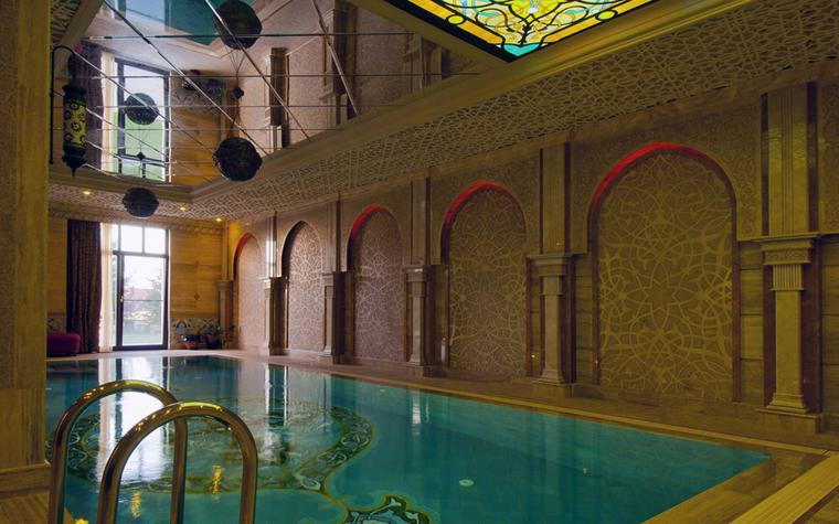 Фото № 25006 бассейн  Баня, сауна, бассейн