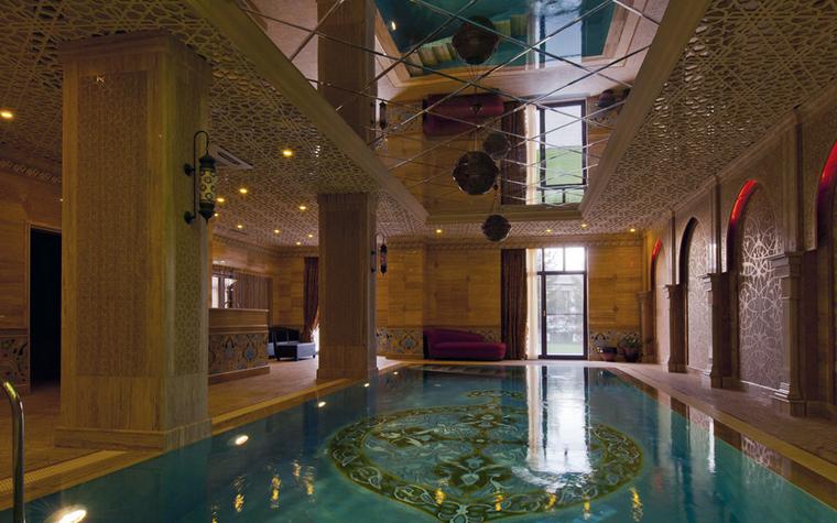 Баня, сауна, бассейн. бассейн из проекта , фото №25008