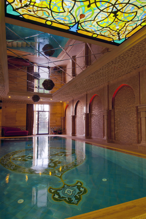 Фото № 25009 бассейн  Баня, сауна, бассейн
