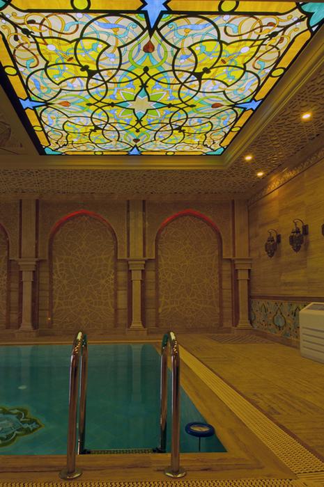 Баня, сауна, бассейн. бассейн из проекта , фото №25010
