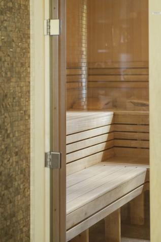 Баня, сауна, бассейн. баня сауна из проекта Баня из клеёного бруса в дачном поселке Гавриково, МО., фото №75149