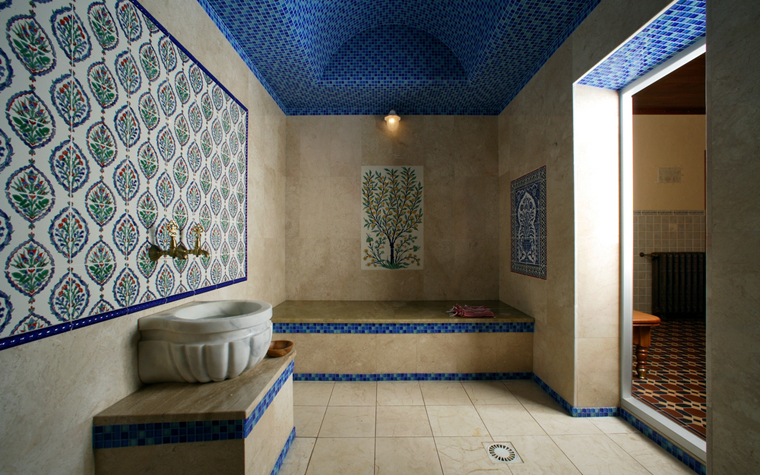 Баня, сауна, бассейн. баня сауна из проекта , фото №12216