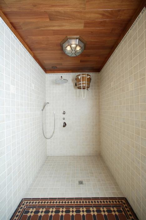 Баня, сауна, бассейн. баня сауна из проекта , фото №12218