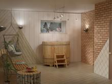 Баня, сауна, бассейн «Хаммам, совмещенный с летней кухней», баня сауна . Фото № 30679, автор Боруш Иван