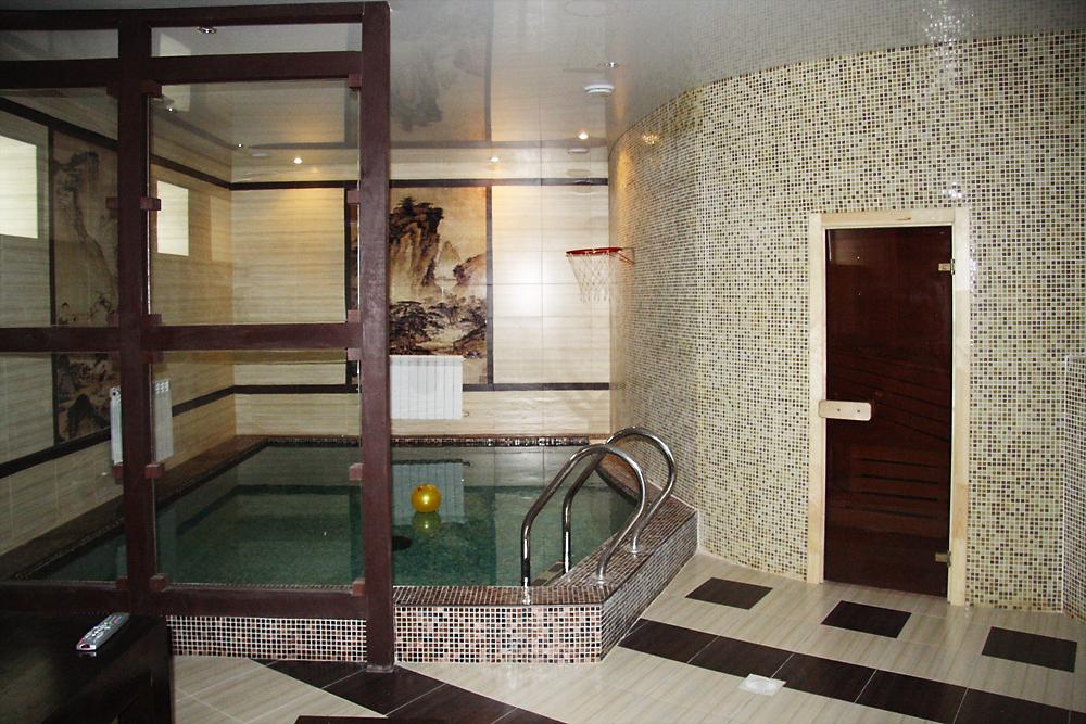 Баня, сауна, бассейн «», баня сауна, фото из проекта
