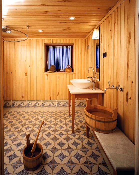Баня, сауна, бассейн «», бани, сауны, фото из проекта