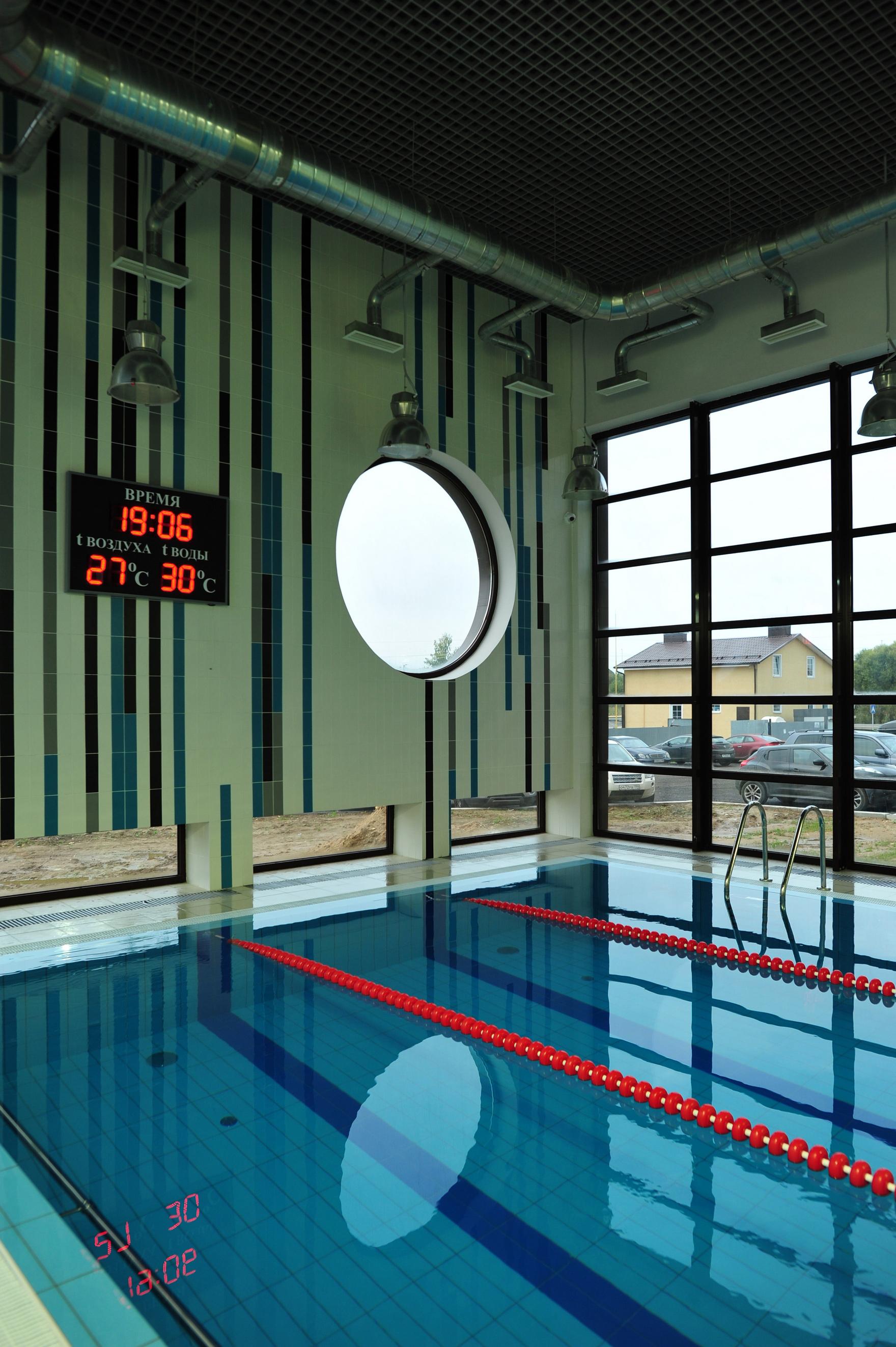 Фото спортивные сооружения Баня, сауна, бассейн
