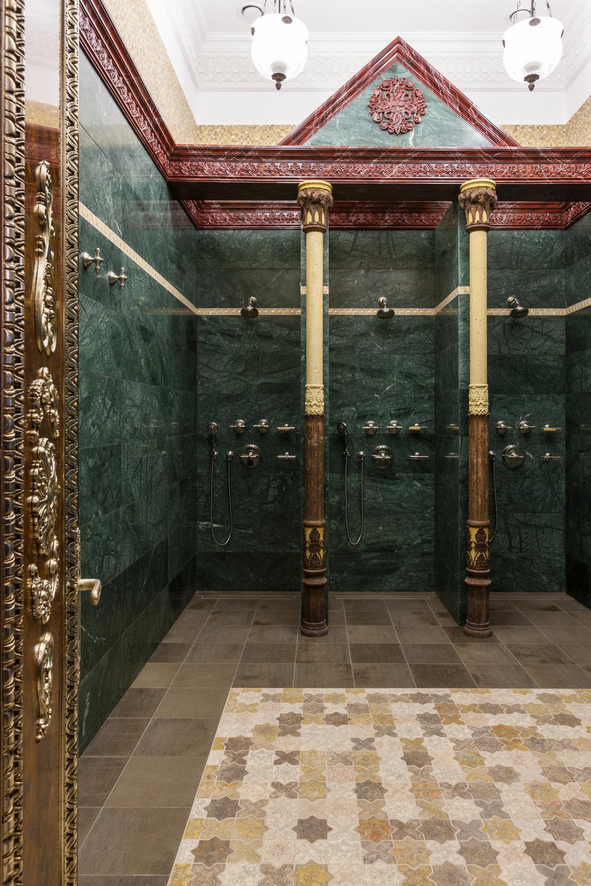 Баня, сауна, бассейн «», ванная, фото из проекта