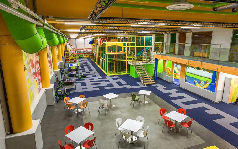 Детские центры, клубы. детский центр, клуб из проекта Спортивно-развлекательный центр JUMP, фото №73338
