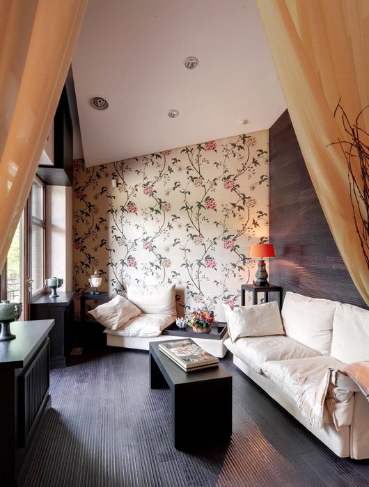 Гостевой дом. гостиная из проекта , фото №7410