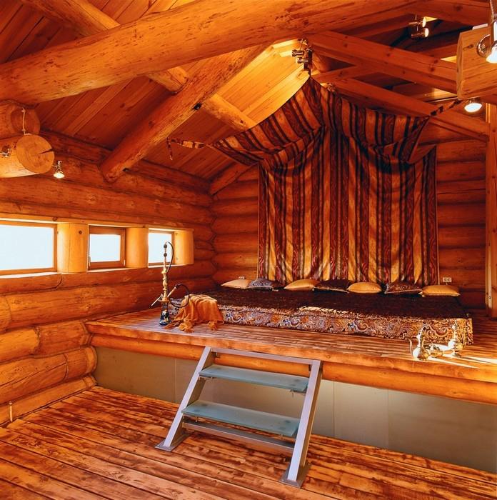интерьер гостиной - фото № 10418