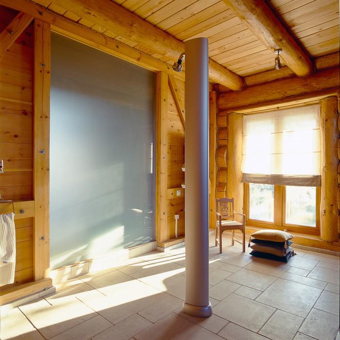 Гостевой дом. баня сауна из проекта , фото №10419