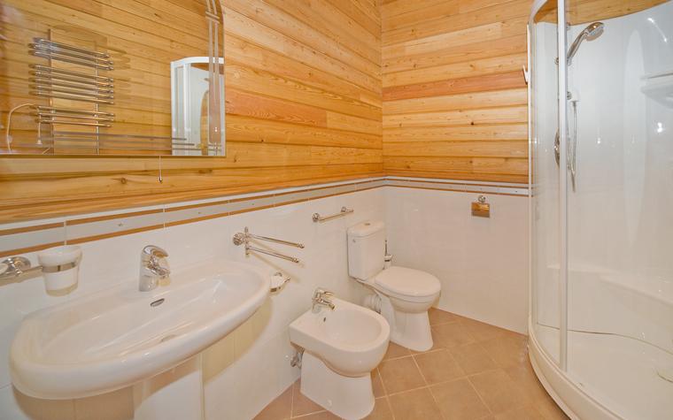 Гостевой дом. ванная из проекта , фото №13877