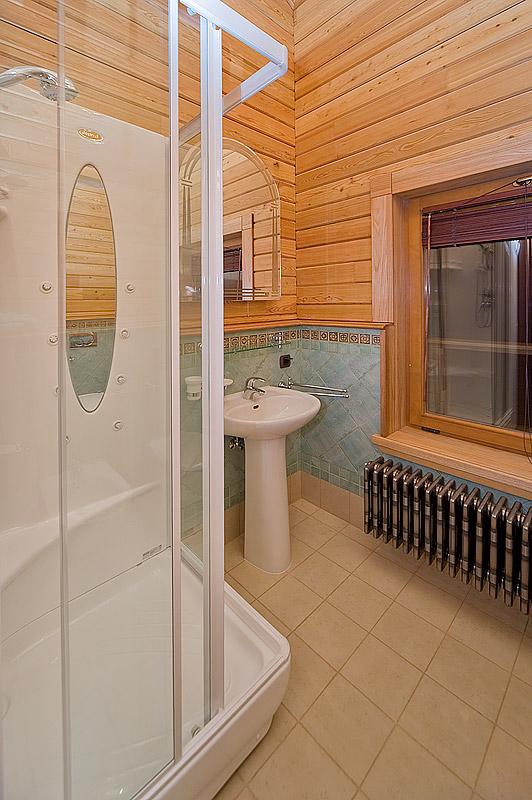 Гостевой дом. ванная из проекта , фото №13875