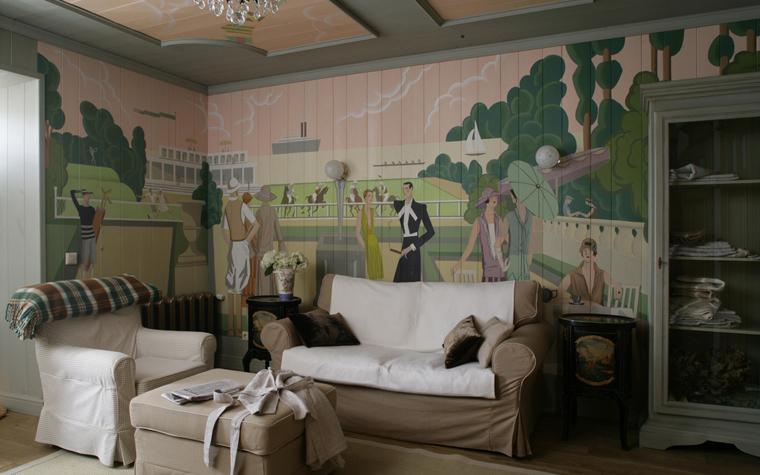 интерьер гостиной - фото № 16300