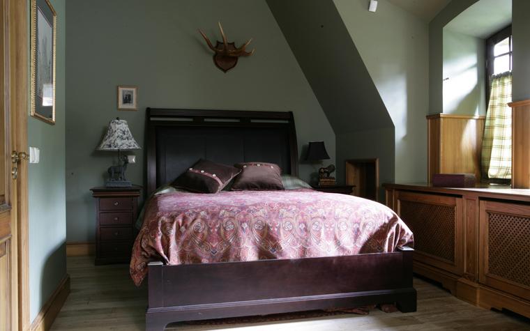 Гостевой дом. спальня из проекта , фото №16295