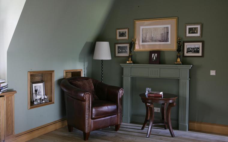 интерьер спальни - фото № 16296