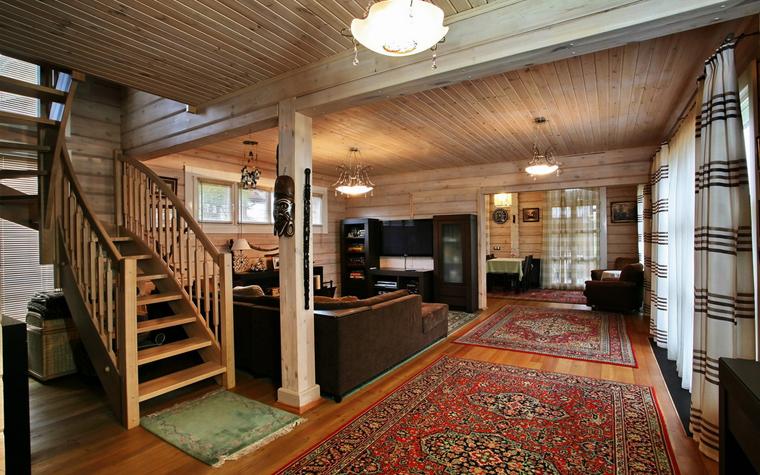 Гостевой дом. гостиная из проекта , фото №19394