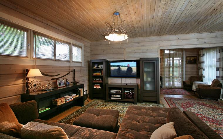 Гостевой дом. гостиная из проекта , фото №19399
