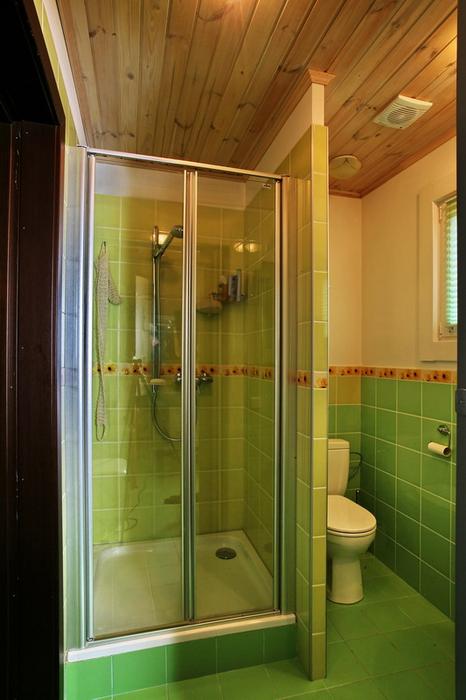 Гостевой дом. ванная из проекта , фото №19407