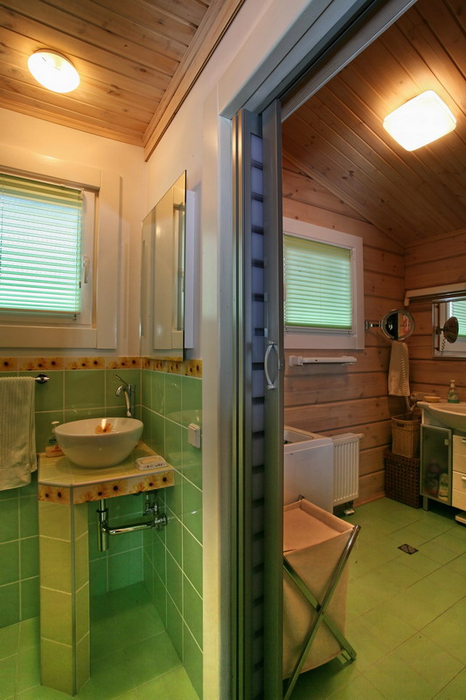 Гостевой дом. ванная из проекта , фото №19408