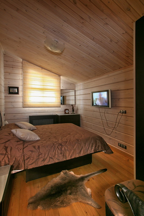 Гостевой дом. спальня из проекта , фото №19402