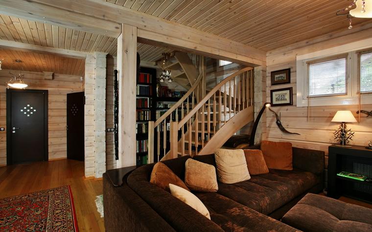 Гостевой дом. гостиная из проекта , фото №19397