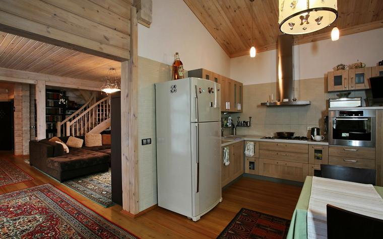 Гостевой дом. кухня из проекта , фото №19410