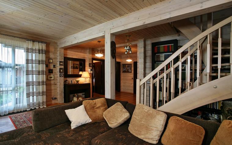 Гостевой дом. гостиная из проекта , фото №19398