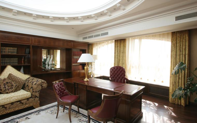 Гостевой дом. кабинет из проекта , фото №26400