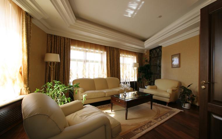 Гостевой дом. гостиная из проекта , фото №26403