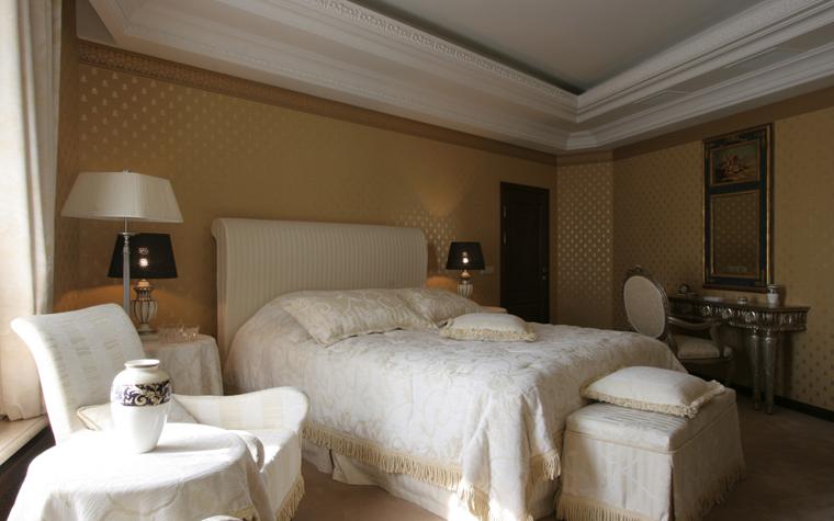 интерьер спальни - фото № 26410