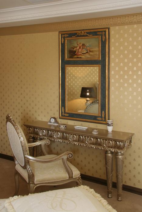 интерьер спальни - фото № 26411