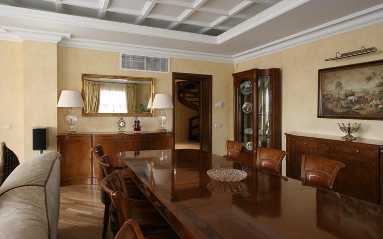 Гостевой дом. столовая из проекта , фото №26416