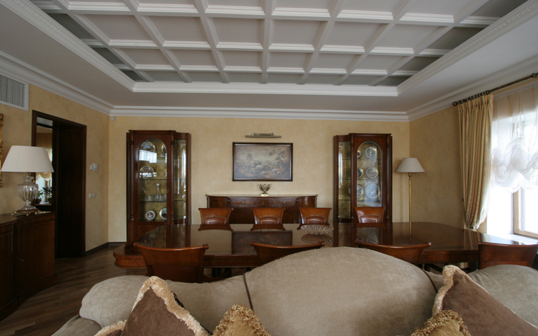 Гостевой дом. столовая из проекта , фото №26417