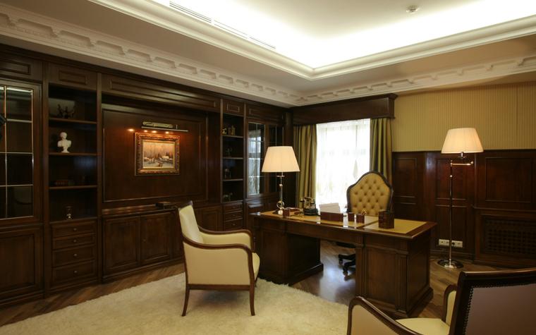Гостевой дом. кабинет из проекта , фото №26389