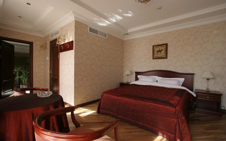 Гостевой дом. спальня из проекта , фото №26415
