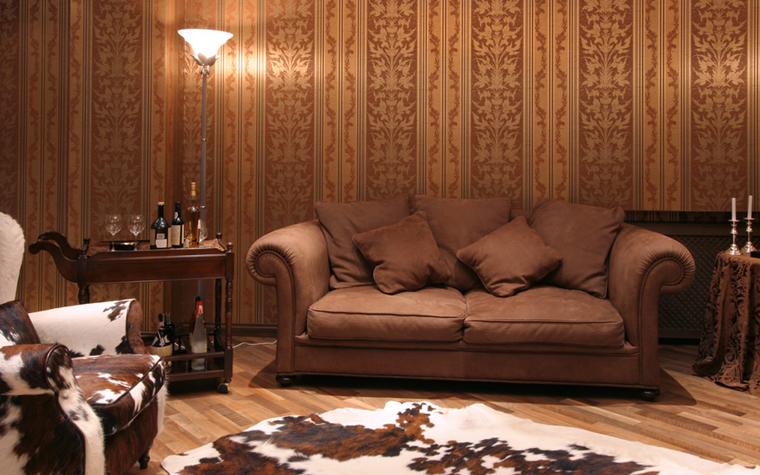 Гостевой дом. гостиная из проекта , фото №26381